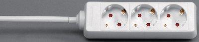 Kopp TSD 3-fach Steckdosenleiste mit Kinderschutz