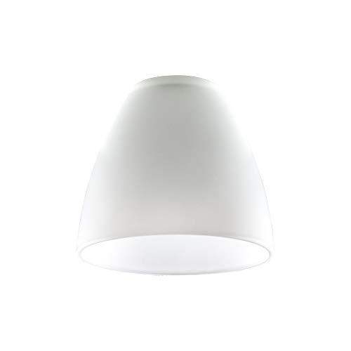 MiniSun - 3er Set Ersatzlampenschirme aus weißem Milchglas in Kuppelform - für Hänge- und Pendelleuchte