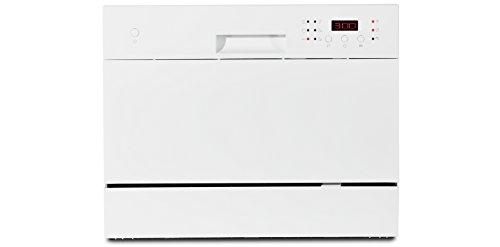 MEDION MD 16698 Tischgeschirrspüler / A+ / 174 kWh/Jahr/ 6 Gedecke Fassungsvermögen / 6 Reinigungsprogramme / weiß