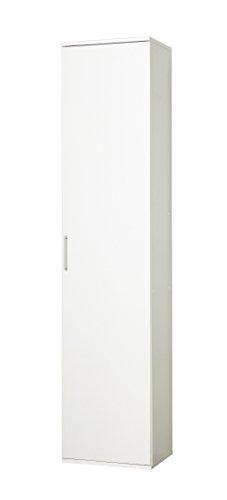 WILMES 40149-75 0 75 Mehrzweckschrank Holzwerkstoff, weiß dekor, 39 x 40 x 178 cm