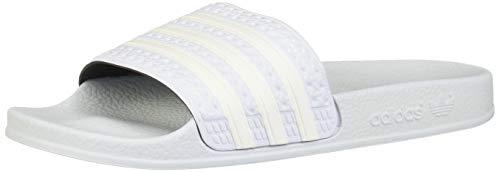 adidas ADILETTE, Herren Pantoffeln, Schwarz (Core Black/Ftwr White/Off White Core Black/Ftwr White/Off White), 47 EU (12 UK)