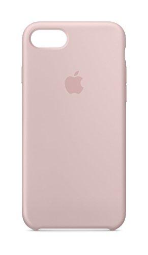 Apple Silikon Case (iPhone 8 / iPhone 7) - Sandrosa