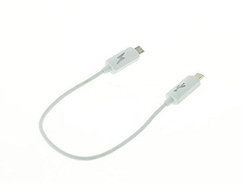 System-S OTG Host Adapter Kabel micro USB zu micro USB für Smartphone