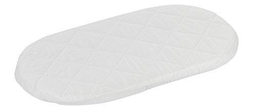 Alvi Wiegen- und Stubenwagen-Matratze 80 cm x 46 cm x 4 cm / Babymatratze und Kindermatratze atmungsaktiv / Comfort Matratze mit 100 % Baumwollbezug / abnehmbar und waschbar - Öko-Tex 100 zertifiziert PREMIUM QUALITÄT