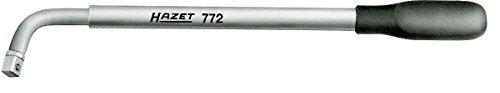 HAZET Radmuttern-Schlüssel (ausziehbar von 303-535 mm, 12,5 mm (1/2 Zoll) Vierkant, verchromte Oberfläche) 772
