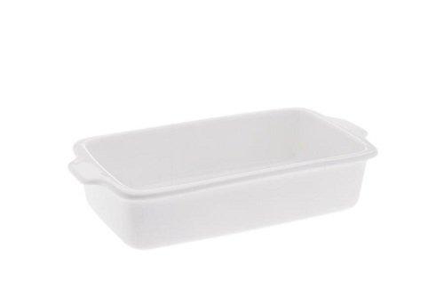 Maxwell & Williams AA0883 Kitchen Auflaufform, Lasagneform, Gratinform, eckig, 26 cm, in Geschenkbox, Porzellan
