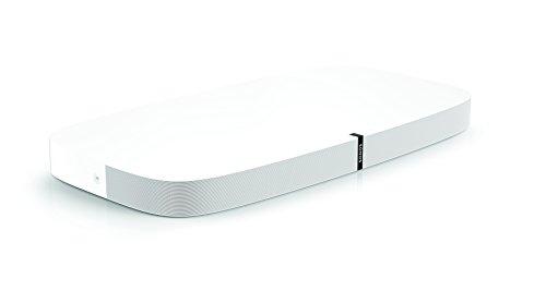 Sonos PLAYBASE WLAN-Soundbase für Heimkino und Musikstreaming weiß