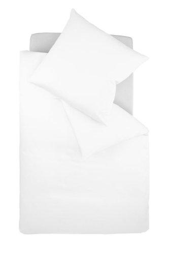 fleuresse G-009200-1000-0100 Interlock Jersey Bettwäsche colours Uni 135 x 200 cm weiß
