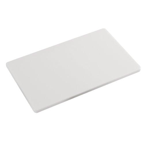 Kesper 30151 HACCP Schneidebrett Kunststoff 53 x 32,5 x 1,5 cm, weiß