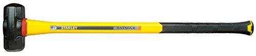 Stanley FatMax Vibrationsarmer Vorschlaghammer (4536 g Kopfgewicht, 900mm Länge, Fiberglasgriff) FMHT1-56019