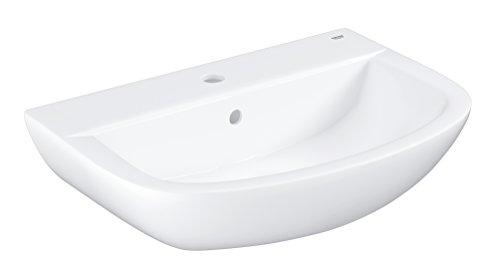 GROHE Bau Keramik | Bad Keramik - Waschtisch | 60cm mit Überlauf | 39421000