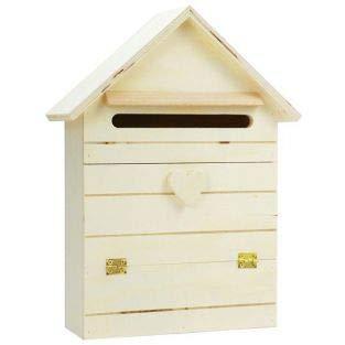 Briefkasten aus Holz zum Anpassen 22 x 29 cm
