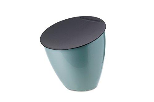 Mepal Abfallbehälter Calypso Plastik, Nordic Grün, 17.5 x 18.4 x cm, 1 Einheiten