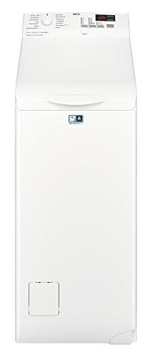 AEG L6TB40260 Waschmaschine / Energieklasse A+++ (150 kWh pro Jahr) / 6 kg / Toplader Waschautomat / Schleuderdrehzahl 1200 U/min / ProSense Technologie / Weiß [Energieklasse A+++]