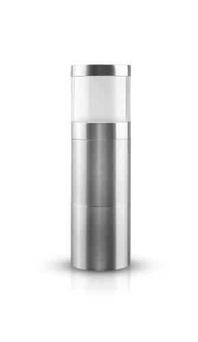 AdHoc PM87 Muskatmühle Muskatino, 3.8 x 12.5 cm,  edelstahl / acryl