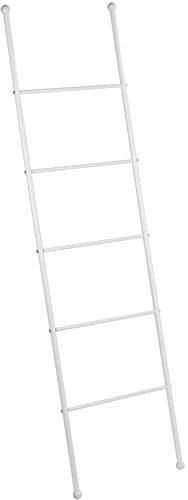 Wenko 22508100 Handtuchleiter Viva Handtuchhalter, Stahl, weiß, 3.5 x 43 x 156.5 cm
