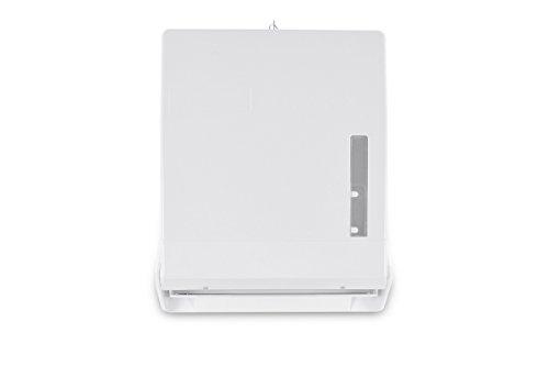 Funny Spender für 600 ZZ/V-Papierhandtücher, abschließbar weiß, 1er Pack (1 x 1 Stück)