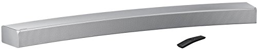 Samsung HW-MS6501 Curved Soundbar Sound+ (integrierter Subwoofer, Bluetooth, Surround-Sound-Expansion, Alexa-Unterstützung) sterlinsilber