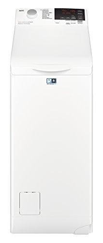 AEG L6TB61370 Waschmaschine Toplader / 7,0 kg / Mengenautomatik / Nachlegefunktion / Kindersicherung / Allergikerfreundlich / Wasserstopp / 1300 U/min