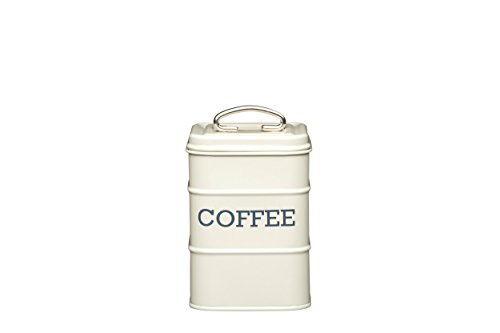 Kitchen Craft Living Nostalgia Metall Tee Caddy, 11 x 17 cm