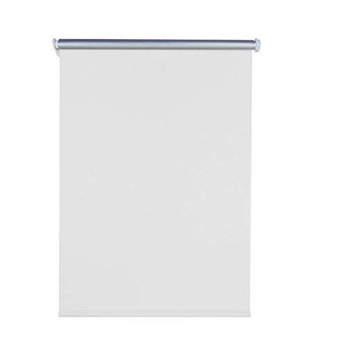 AUFUN Verdunkelungsrollo Thermorollo Seitenzugrollo Seitenzug Klemmrollo ohne Bohren Klemmfix (70 x 160 cm, Weiß)