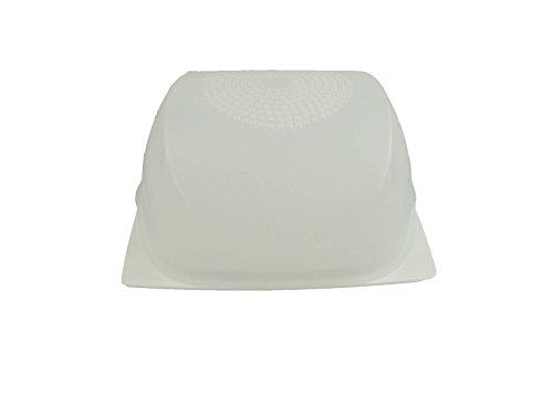 TUPPERWARE KäseMax Junior weiß transparent A205 Käseglocke Käse Kondenspro Klein 9744