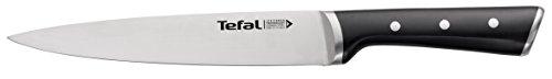 Tefal Ingenio Ice Force K23207 Fleisch- und Schinkenmesser 20 cm, Edelstahl/schwarz