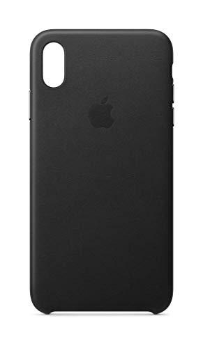 Apple Leder Case (iPhoneXS Max) - Schwarz