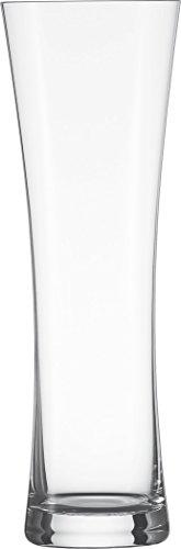 Schott Zwiesel 117841 Beer Basic 2-teiliges Weizenbierglas Set, Kristall, farblos, 8.55 cm, 2 Einheiten