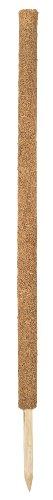 Connex Kokos-Pflanzstab 110 cm, verlängerbar/Pflanzenhilfe/Rankhilfe/Pflanzenstütze/Garten/FLOR78472