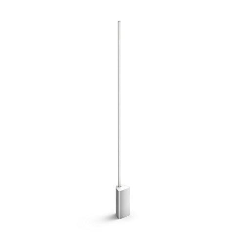 Philips Hue White and Color Ambiance LED Stehleuchte Signe, dimmbar, steuerbar via App, kompatibel mit Amazon Alexa, aluminium