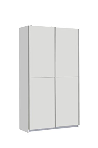 NEWFACE Ohio Mehrzweckschrank, Holz, weiß, 120 x 42 x 190.50 cm