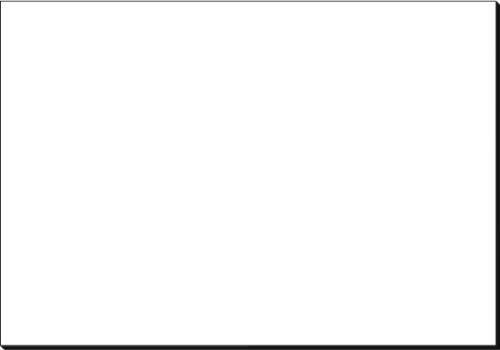 Sigel HO300 weiße Papier-Schreibunterlage / Malblock (59,5 x 41 cm, 30 Blatt, 80 g)