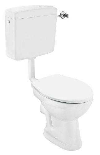 Cornat Komplettanlage tiefspül Stand-WC, weiß
