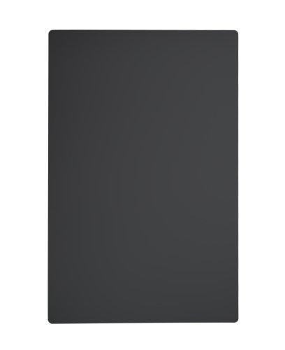 Kreidetafel wetterfest schwarz, 90 x 60 cm