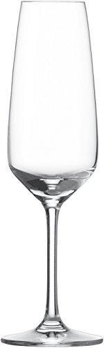 Schott Zwiesel Taste Sektglas 7, 6er Set, Champagnerglas, Proseccoglas, Glas, 283 ml, 115674
