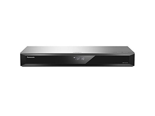Panasonic DMR-UBC70EGS Ultra HD Blu-ray Recorder in silber (500GB HDD, 4K Blu-ray Disc Wiedergabe, WLAN, 4K VoD, UHD TV Empfang, 2x DVB-C/T2 HD Tuner)