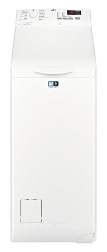 AEG L6TB40460 Waschmaschine/Energieklasse A+++ (150 kWh pro Jahr)/6 kg/Toplader Waschautomat/schonendes Waschen/Mengenautomatik/Startzeitvorwahl/Weiß