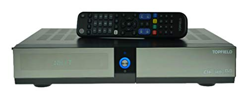 Topfield SRP-2401CI+ Eco 500GB HDTV Twin Sat Receiver mit Festplatte und Durchschleifkabel