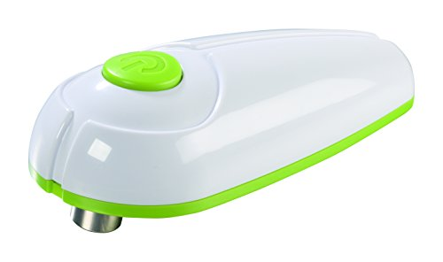 TV Das Original 01242 Gourmetmaxx Dosenöffner vollautomatisch, weiß / limegrün