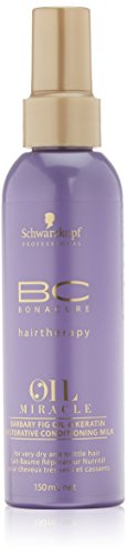 Schwarzkopf Bonacure Oil Miracle Barbary Fig oil and Keratin Spray Conditioner Milk, 1er Pack (1 x 150 ml)