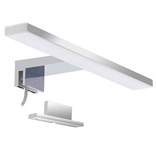 LED Spiegellampe Badezimmer Spiegelleuchte 5W 300mm 400lm IP44 Badleuchte Neutralweiß 4000k Aourow, Spiegellampen Spiegel Badezimmerschrank 230v LED-Badspiegelleuchten Badezimmerspiegel