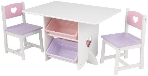 KidKraft - Tisch-Set Herz mit 2 Stühlen