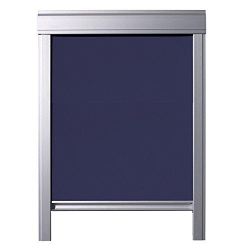 ITZALA Verdunkelungs-Rollo in Dunkelblau für VELUX Dachfenster GGL C02 / GGU C02