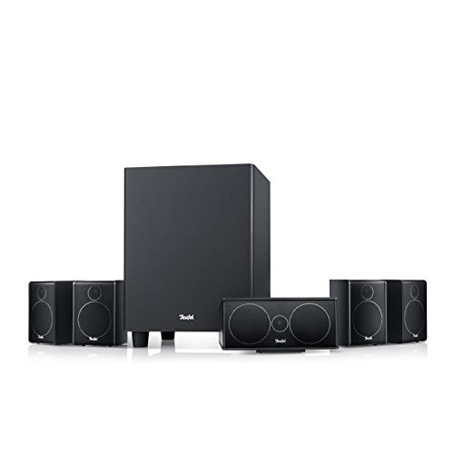 Teufel Consono 25 Mk3 '5.1-Set' Schwarz - Besonders kompaktes Heimkino-Lautsprecher-Set