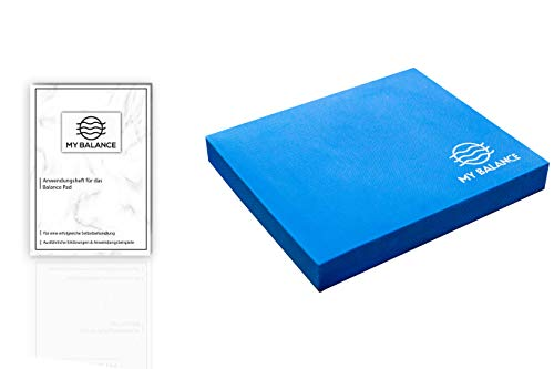My Balance Balance Pad + GRATIS Anwendungsheft 24seitig - innovatives Balancekissen