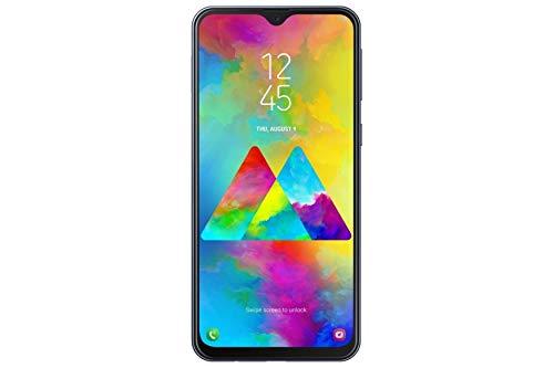 Samsung Galaxy M20 Smartphone (16.0cm (6.3 Zoll) 64GB interner Speicher, 4GB RAM, Charcoal Black) - Deutsche Version [Exklusiv bei Amazon]