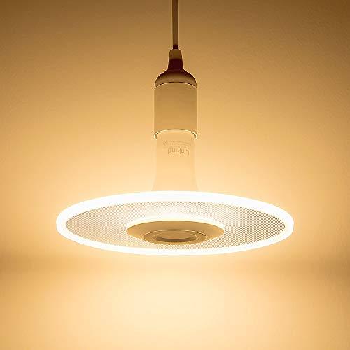 Sternwolk LED Pendel Leuchte, Linkind 11W Lampebirne, 1100lm warmweiß Hängende Beleuchtung, geeignet für E27 Fassung, ideal Designerlampe für Küche, Esstisch, Wohnzimmer, Laden.