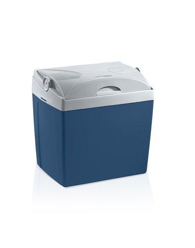 MOBICOOL U26 DC  -  elektrische Kühlbox, anschlussfertig für Zigarettenanzünder im Auto, 12 Volt, Fassungsvermögen 25 Liter, Mini-Kühlschrank für Auto und Camping