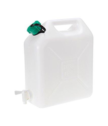 Wasserkanister lebensmittelecht mit Ablasshahn 10 Liter